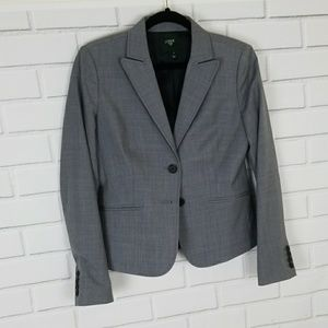 J. CREW Suiting Lightweight Wool Size 4